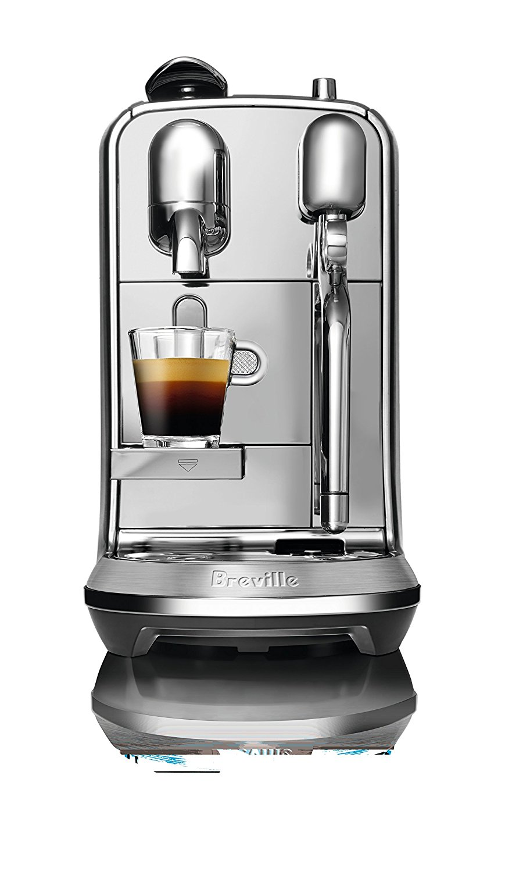 machine expresso breville creatista plus pour nespresso distribution caf express. Black Bedroom Furniture Sets. Home Design Ideas